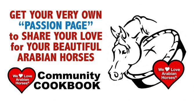 we-love-arabian-horses-passion-page-cookbook-community